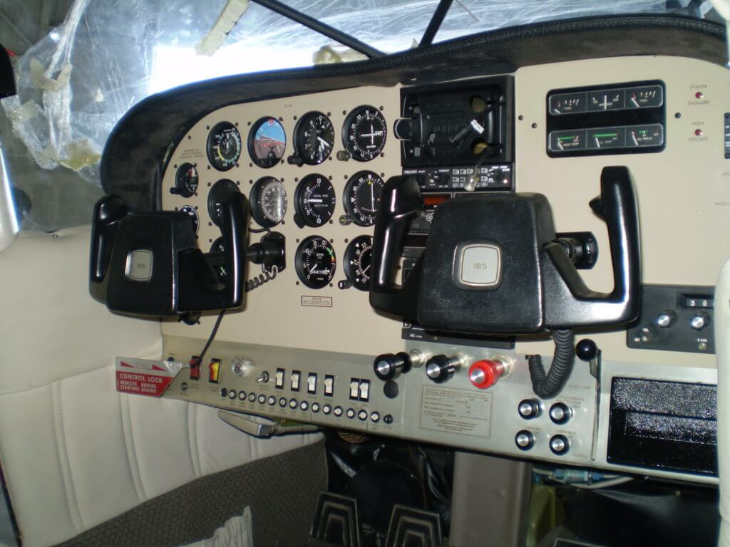 Carry out panel refurbishment to a Cessna 185.