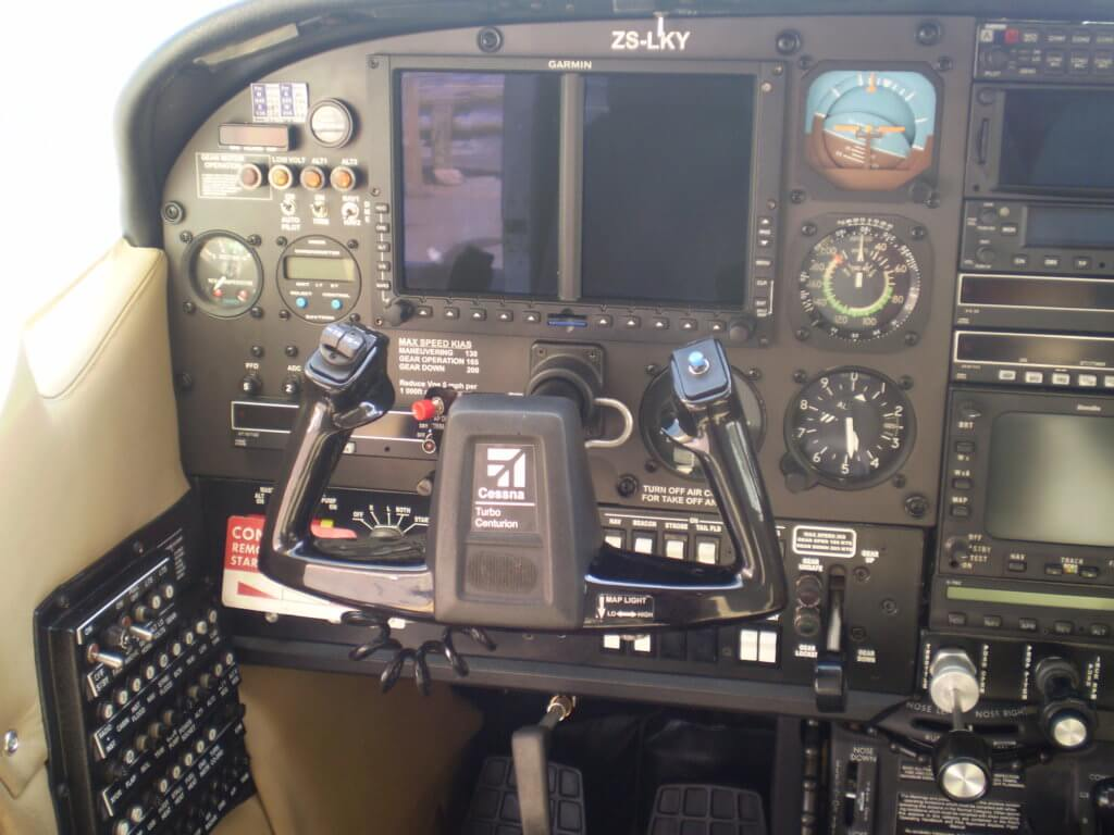 Installed a Garmin G500 into a Cessna 210R.
