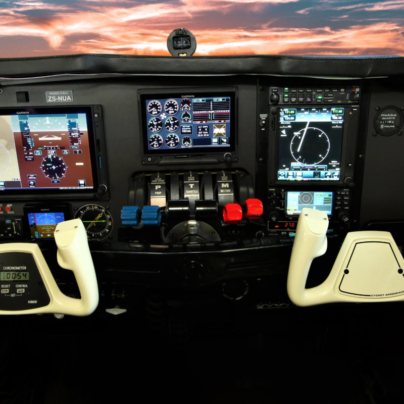 Install Garmin G500TXi with Engine Indication, GTN750, GNS430W, GMA345 Audio Panel, GFC600 Autopilot with Yaw Damper, G5 Standby Attitude Indicator, Avidyne Traffic System and Avidyne Tactical Weather Detection System into a Baron 58.