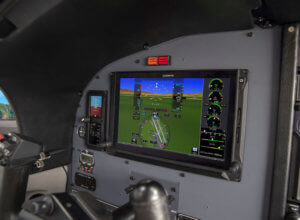 G600 TXi featruring turbine engine information system.