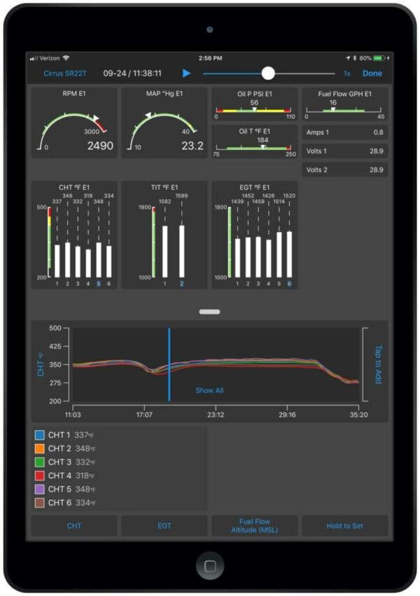Garmin Pilot EIS on iOS