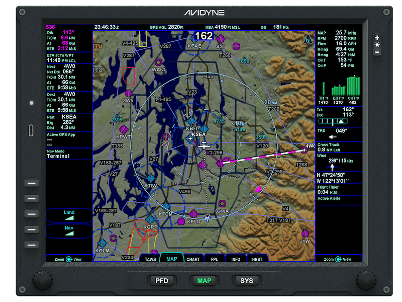 Vantage-MFD-MAP-Engine